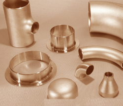 CU-NI 70/30 BUTTWELD FITTINGS from PEARL OVERSEAS