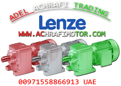 LENZE GEARBOX WITH MOTOR IN SHARJAH - DUBAI . UAE from ADEL ACHRAFI TRADING EST BRANCH 1