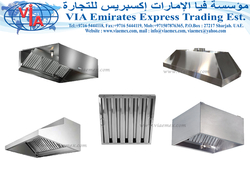 Commercial Kitchen Hoods In UAE from VIA EMIRATES EXPRESS TRADING EST