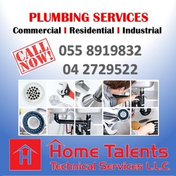 Plumbing Services  from HOME TALENTS TECHNICAL SERVICES LLC