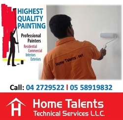 Commercial and Residential Painting Services  from HOME TALENTS TECHNICAL SERVICES LLC