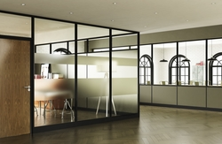 FRAMED PARTITIONS & FRAMELESS PARTITIONS from BOTICO - ALUMINIUM AND GLASS