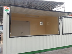 Prefabricated Coffee Shops from RTS CONSTRUCTION EQUIPMENT RENTAL