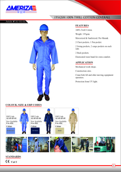 CHIEF - COVERALL from SAMS GENERAL TRADING LLC