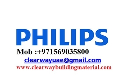 PHILIPS PRODUCTS DEALER IN MUSAFFAH , ABUDHABI , UAE from CLEAR WAY BUILDING MATERIALS TRADING