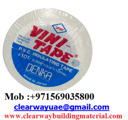 VINI TAPE DEALER IN MUSAFFAH , ABUDHABI ,UAE from CLEAR WAY BUILDING MATERIALS TRADING