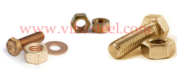 Aluminum Bronze Fasteners Manufacturers from VIHAS STEEL AND FORGING