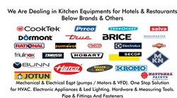 KITCHEN EQUIPMENT from IK BROTHERS GENERAL TRADING CO LLC