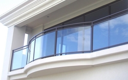 GLASS HANDRAILS IN DUBAI from WHITE METAL CONTRACTING LLC