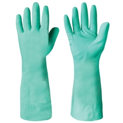 NITRITE COTTON FLOCK LINED GLOVES in Dubai from ORIENT GENERAL TRADING