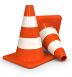 Traffic Cones in Dubai from ORIENT GENERAL TRADING