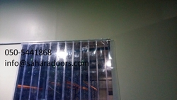 PVC CURTAINS IN SHARJAH from SAHARA DOORS & METALS LLC