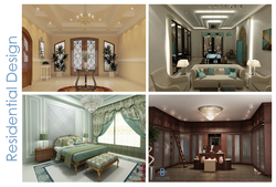 RESIDENTIAL DESIGNERS IN ABU DHABI from DESIGN HUB INTERIOR AND DECORATION WORK LLC