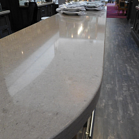 TECHNISTONE BAR TOPS IN UAE from BUAMIM MARBLE & GRANITE FACTORY (L.L.C)