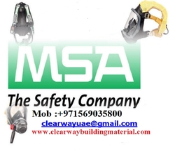 MSA PRODUCTS DEALER IN MUSAFFAH ABUDHABI UAE from CLEAR WAY BUILDING MATERIALS TRADING