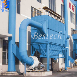 Industrial Bag Filter Dust Collector from QINGDAO BESTECH MACHINERY CO.,LTD