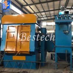 Tumble Belt Shot Blasting Machine for Nuts and Bolts from QINGDAO BESTECH MACHINERY CO.,LTD