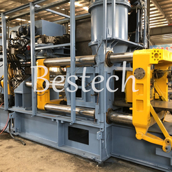 Vertical Flaskless Sand Molding Machine for Manhole Cover from QINGDAO BESTECH MACHINERY CO.,LTD