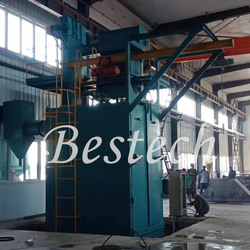 Hook Shot Blasting Machine for Gas Cylinder from QINGDAO BESTECH MACHINERY CO.,LTD