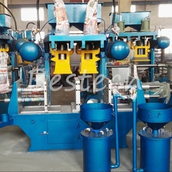 Double Station Precoated Sand Core Shooter from QINGDAO BESTECH MACHINERY CO.,LTD