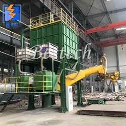 Furan Resin Sand Production Molding Line from QINGDAO BESTECH MACHINERY CO.,LTD