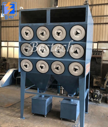 Cartridge Dust Collector for Shot Blasting Machine from QINGDAO BESTECH MACHINERY CO.,LTD