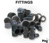 PVC PRESSURE PIPE FITTINGS IN UAE from ADEX INTERNATIONAL TOOLS LLC