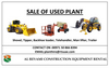 SALE OF USED PLANT