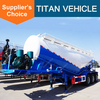 Titan 3 Axle 50CBM Bulk Cement Semi Trailer
