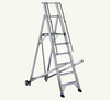 Rolling Warehouse Aluminium Ladder In Dubai