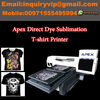 Dye sublimation direct t shirt printer