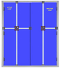 STEEL BULLET PROOF DOUBLE DOORS & FRAMES