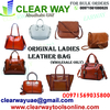 LADIES ORIGINAL LEATHER BAG DEALER IN MUSSAFAH , ABUDHABI , UAE