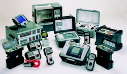 MEGGER TESTING AND MEASURING INSTRUMENTS