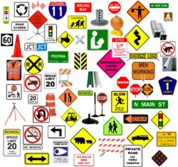 Traffic Signs in uae
