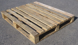 USE WOODEN PALLET