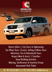 Evening Desert Safari in Abu Dhabi