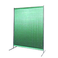 WELDING CURTAINS GREEN