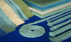 FIBERGLASS TAPES, ROPES, THREADS, MATS