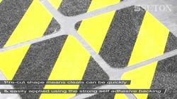 Anti slip road markers in UAE