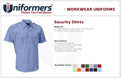 Security Shirt Suppliers in UAE