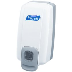 One  purell manual dispenser for 1000ml refill