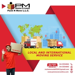 Movers storage in dubai