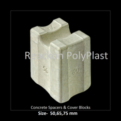 Concrete Spacers & Cover Blocks Size - 50,65,75 mm