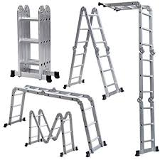 ALUMINIUM MULTIPURPOSE LADDER
