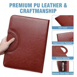 Leather Portfolio organizer Holder