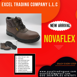 NOVAFLEX SAFETY SHOES MANUFACTURES ,SUPPLIERS AND DEALERS IN ABUDHABI,MUSSAFAH,UAE