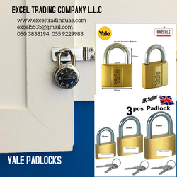 YALE PADLOCK SUPPLIERS AND DEALERS IN ABUDHABI,DUBAI,AJMAN,SHARJAH,RAS AL KHAIMAH,UMM Al QUWAIN, MUSSAFAH, NEAR TO ME, UAE