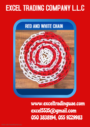 RED & WHITE CHAIN SUPPLIER IN ABUDHABI