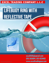 LIFE BUOY RINGS WITH REFLECTIVE TAPE